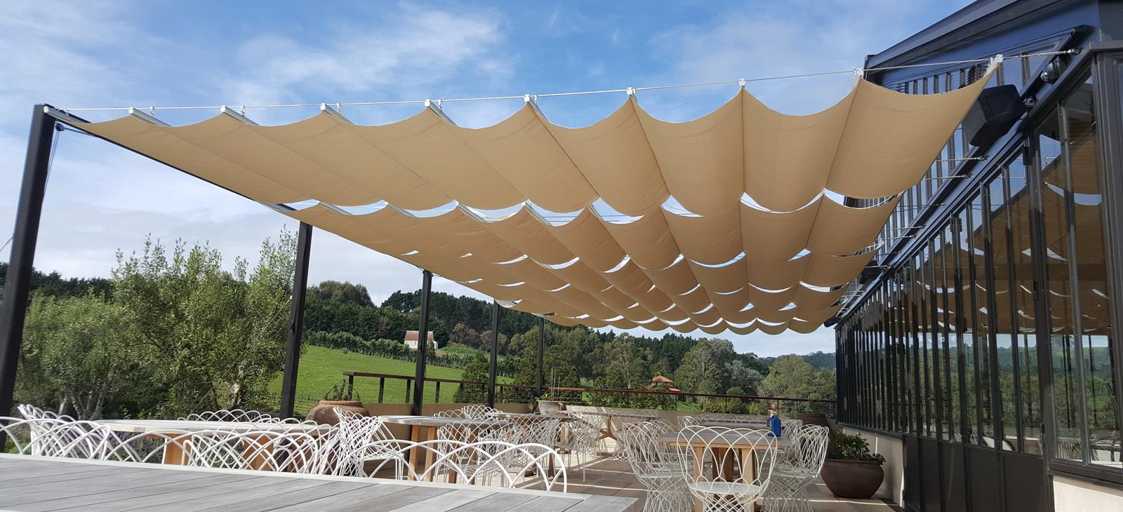Shade Sails Llc Innovative Tensioned Fabric Canopies