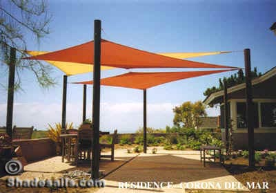 Outdoor Custom Shade Sails