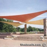 Shade Sails for Amphiteaters