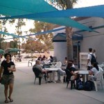 Eating Area Shade Sails Biola