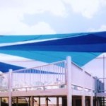Eating Area Shade Sails