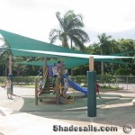 Shade Sails Playground Covering