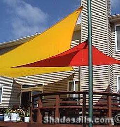 Shade Sails over back deck