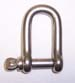 "5/16"" stainless ""D"" shackle"