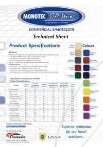 Technical Sheet - Product Specs