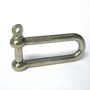 5 16 Stainless steel Long D Shackle