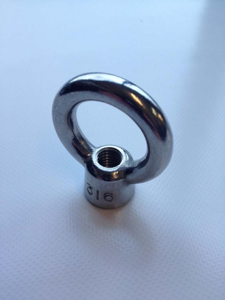 Stainless steel eyenut